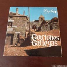 Discos de vinilo: CANCIONES GALLEGAS - FOLIADA DE NOYA - RUADA DE ALLARIZ - COROS GALLEGOS ROSALIA DE CASTRO MADRID. Lote 216865402