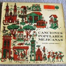 Discos de vinilo: MIGUEL ACEVES MEJIA - CANCIONES POPULARES MEJICANAS - DOBLE EP - EL CRUCIFIJO DE PIEDRA + 7 - 1958. Lote 216866428