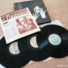 Discos de vinilo: EL FLAMENCO Nº1 -TEMAS HISTÓRICOS LOS ORÍGENES- CIRCULO DE LECTORES- SEGUNDA MANO. Lote 216870852