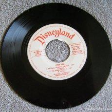 Discos de vinilo: PETER PAN- DISNEYLAND - EP - NARRADORA: AMPARITO GARRIDO - AÑO 1968. Lote 216874711