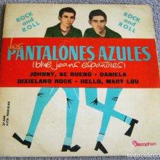 Discos de vinilo: LOS PANTALONES AZULES (BLUE JEANS ESPAÑOLES) - EP - JOHNNY + 3 -AÑO 1961. Lote 216875505