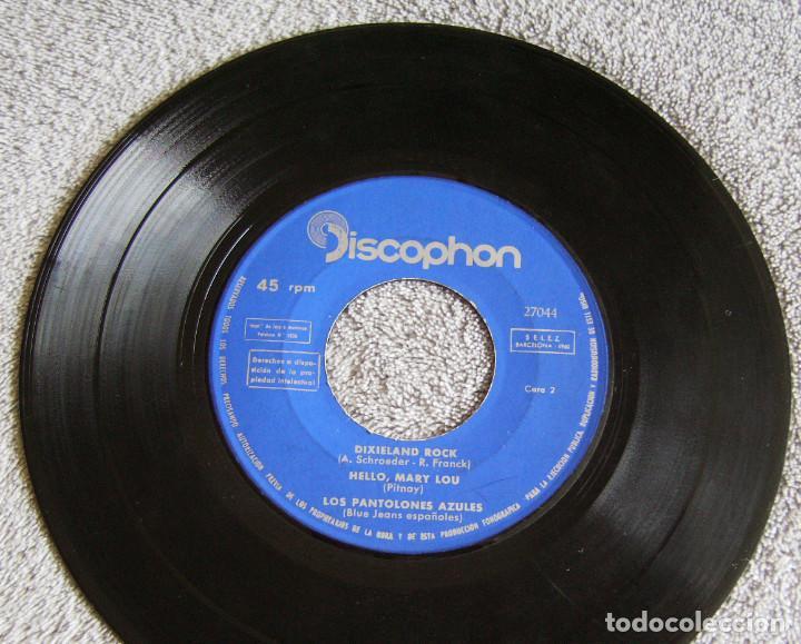 Discos de vinilo: LOS PANTALONES AZULES (BLUE JEANS ESPAÑOLES) - EP - JOHNNY + 3 -AÑO 1961 - Foto 4 - 216875505