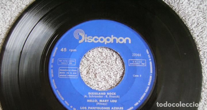 Discos de vinilo: LOS PANTALONES AZULES (BLUE JEANS ESPAÑOLES) - EP - JOHNNY + 3 -AÑO 1961 - Foto 5 - 216875505