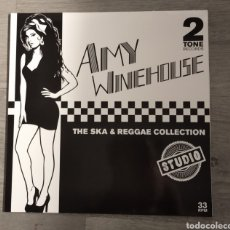 Disques de vinyle: AMY WINEHOUES THE SKA AND THE REGGAE COLLECTION LP. Lote 216876088