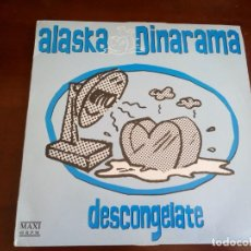 Discos de vinilo: ALASKA Y DINARAMA - DESCONGELATE - MAXI SINGLE.12 - 1989. Lote 216885641