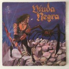 Discos de vinilo: VIUDA NEGRA. CAPRICORNIO, 1985. HEAVY METAL. SOLO COVER.. Lote 216886768