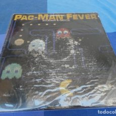 Discos de vinilo: BOXX6162 LP USA 82 BUCKNER AND GARCIA PAC-MAN FEVER TAPA GASTADILLA LP OK MARIO ZELDA. Lote 216887903