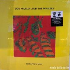 Discos de vinilo: MAXI BOB MARLEY AND THE WAILERS REDEMPTION SONG VINILO TRANSPARENTE NUEVO PRECINTADO RSD 2020. Lote 216892982