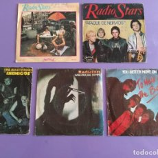 Dischi in vinile: LOTE 5 SINGLES PUNK. 2 RADIO STARS . 2 THE RADIATORS. 1 THE BOYS. SPAIN.SELLOS CHISWICKK Y SAFARI.. Lote 216894232