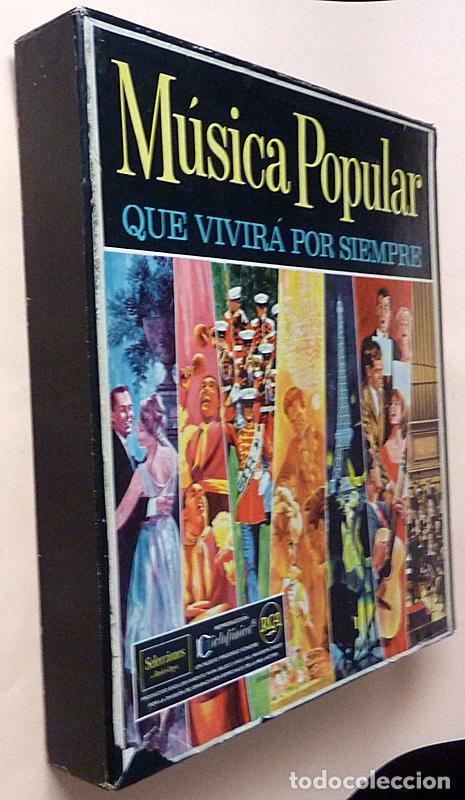 Discos de vinilo: MUSICA POPULAR QUE VIVIRÁ POR SIEMPRE - CAJA 10 LPs - READER´S DIGEST (RCA VENEZUELA) - 1961 - VG+ - Foto 2 - 216906458