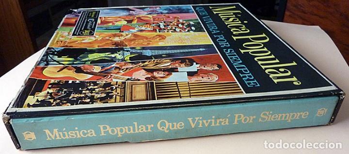 Discos de vinilo: MUSICA POPULAR QUE VIVIRÁ POR SIEMPRE - CAJA 10 LPs - READER´S DIGEST (RCA VENEZUELA) - 1961 - VG+ - Foto 3 - 216906458
