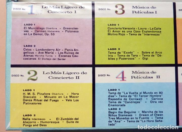 Discos de vinilo: MUSICA POPULAR QUE VIVIRÁ POR SIEMPRE - CAJA 10 LPs - READER´S DIGEST (RCA VENEZUELA) - 1961 - VG+ - Foto 6 - 216906458
