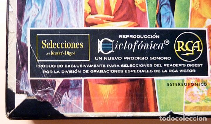 Discos de vinilo: MUSICA POPULAR QUE VIVIRÁ POR SIEMPRE - CAJA 10 LPs - READER´S DIGEST (RCA VENEZUELA) - 1961 - VG+ - Foto 10 - 216906458