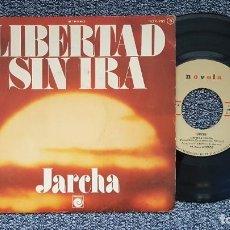 Discos de vinilo: JARCHA - LIBERTAD SIN IRA / POLUCIÓN. EDITADO POR ZAFIRO. AÑO 1.976. CONTIENE LETRA. Lote 216909626