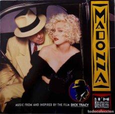 Discos de vinilo: MADONNA, I'M BREATHLESS. BANDA SONORA DE LA PELÍCULA DICK TRACY. LP ALEMANIA COMO NUEVO. Lote 216912057