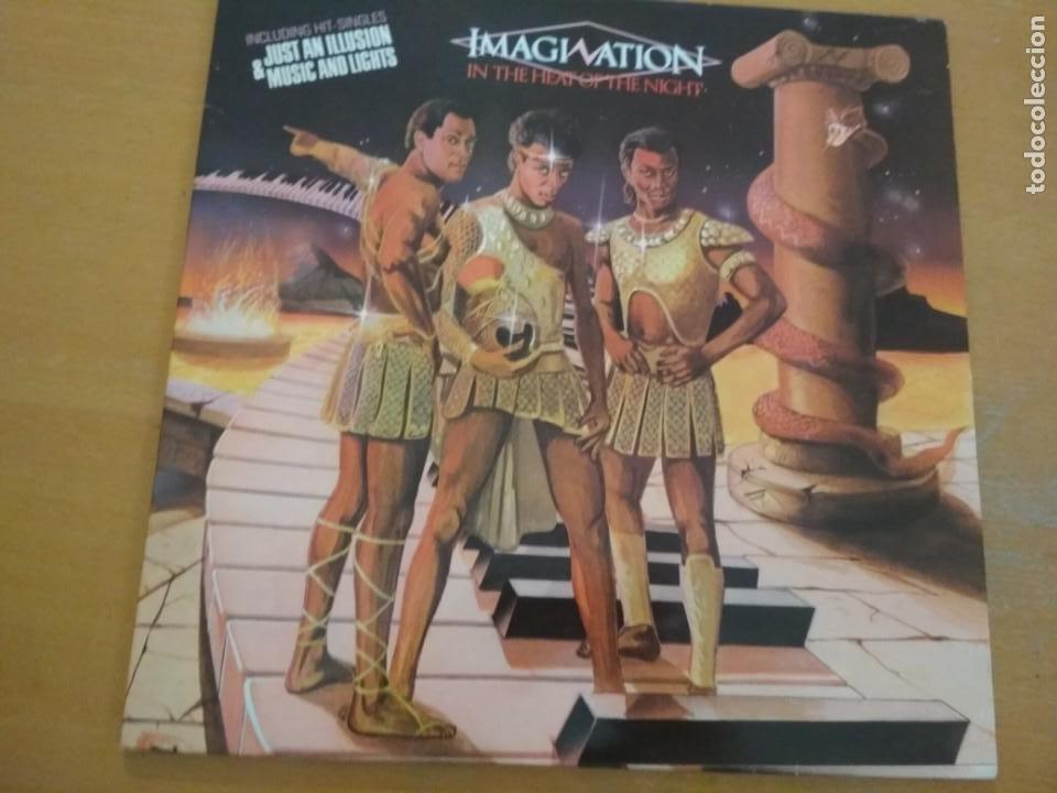 IMAGINATION IN THE HEAT OF THE NIGHT LP GATEFOLD (Música - Discos - LP Vinilo - Funk, Soul y Black Music)
