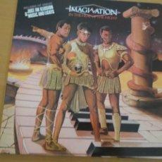 Discos de vinilo: IMAGINATION IN THE HEAT OF THE NIGHT LP GATEFOLD. Lote 216919013