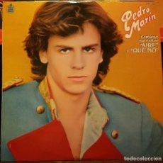 Discos de vinilo: PEDRO MARIN - AIRE - Y QUE NO. Lote 216924447