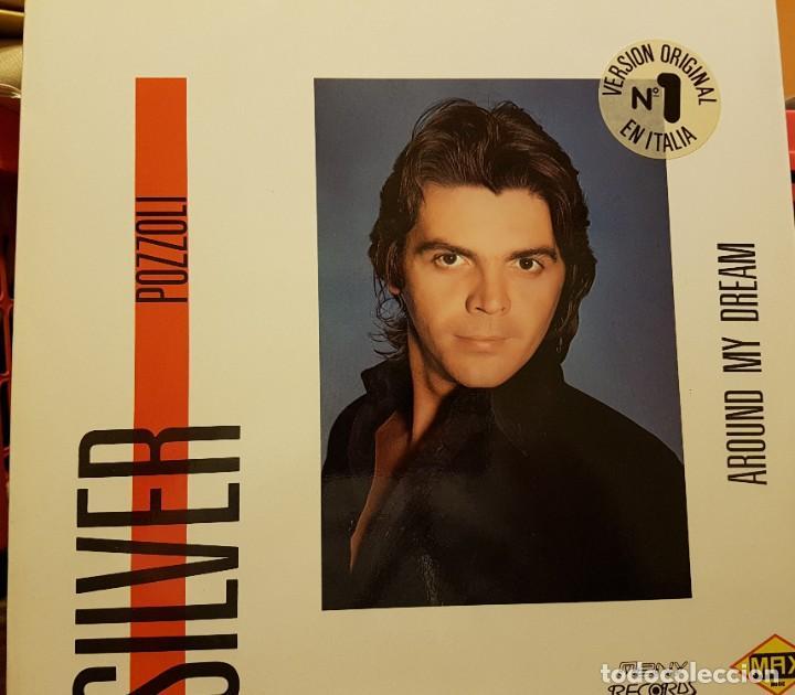 SILVER POZZOLI (Música - Discos de Vinilo - Maxi Singles - Canción Francesa e Italiana)