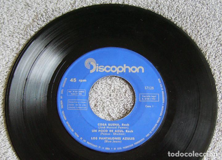 Discos de vinilo: LOS PANTALONES AZULES (BLUE JEANS ESPAÑOLES) - EP - COSA BUENA + 3 -AÑO 1960 - Foto 2 - 216927192