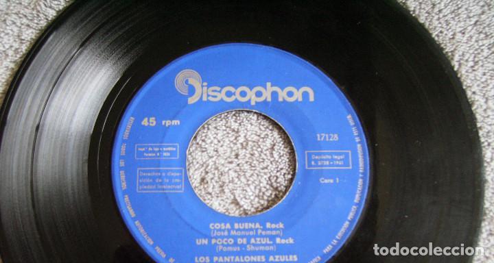 Discos de vinilo: LOS PANTALONES AZULES (BLUE JEANS ESPAÑOLES) - EP - COSA BUENA + 3 -AÑO 1960 - Foto 3 - 216927192