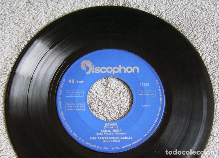 Discos de vinilo: LOS PANTALONES AZULES (BLUE JEANS ESPAÑOLES) - EP - COSA BUENA + 3 -AÑO 1960 - Foto 4 - 216927192