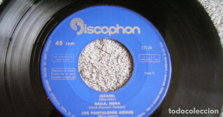 Discos de vinilo: LOS PANTALONES AZULES (BLUE JEANS ESPAÑOLES) - EP - COSA BUENA + 3 -AÑO 1960 - Foto 5 - 216927192