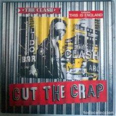 Discos de vinilo: THE CLASH. CUT THE CRAP. CBS 26601, EUROPA 1985 LP + ENCARTE. Lote 216930236