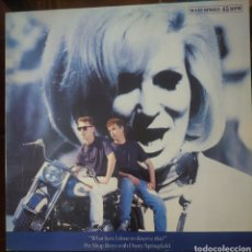 Discos de vinilo: PET SHOP BOYS CON DUSTY SPRINGFIELD MAXI-SINGLE SELLO EMI AÑO 1987.... Lote 216930758