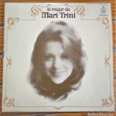 Discos de vinilo: LO MEJOR DE MARI TRINI. Lote 216948131