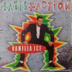 Discos de vinilo: VANILLA ICE. SATISFACTION... SINGLE EEC. Lote 216948482