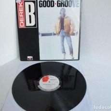 """Discos de vinil: DEREK B / GOOD GROOVE / RAP HIP HOP / 12"""" VINILO / UK / VG+. Lote 216952348"""