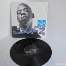 """Discos de vinil: JAY Z / EXCUSE ME MISS / RAP HIP HOP / 12"""" VINILO / UK / VG+. Lote 216960026"""