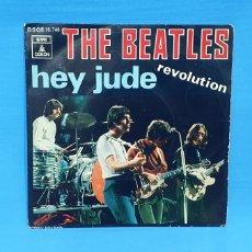 Discos de vinilo: DISCO SINGLE- HEY JUDE - THE BEATLES. Lote 216960412