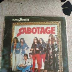 """Discos de vinilo: BLACK SABBATH """" SABOTAGE """" . EDICIÓN ESPAÑOLA.. Lote 216986806"""