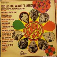 Disques de vinyle: TOUS LES HITS ANGLAIS ET AMERICAINS 1967 - EXPOLO 67. Lote 217006348