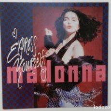 Discos de vinilo: VINILO MAXI. MADONNA - EXPRESS YOURSELF. EDICIÓN ALEMANA.. Lote 217012851