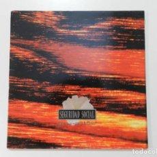 Discos de vinil: VINILO LP. SEGURIDAD SOCIAL - ¡QUE NO SE EXTINGA LA LLAMA!. EDICIÓN ESPAÑOLA.. Lote 217013083