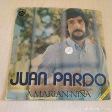 Discos de vinilo: JUAN PARDO - A MARIAN NIÑA - SINGLE NOVOLA NOX-155 DEL AÑO 1971 EN BUEN ESTADO. Lote 217018523