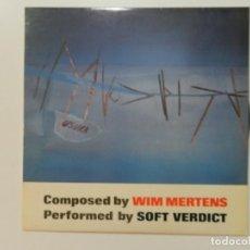 Discos de vinilo: VINILO LP. WIM MERTENS - WITH USURA. EDICIÓN ESPAÑOLA.. Lote 217022058