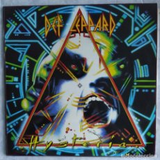 Discos de vinilo: DEF LEPPARD - HYSTERIA (LP, ALBUM) (BLUDGEON RIFFOLA) 830 675-1 (D:NM). Lote 217022570