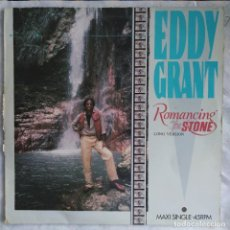 """Discos de vinilo: EDDY GRANT - ROMANCING THE STONE (LONG VERSION) (12"""", MAXI) (PORTRAIT) PRTA 12.4392 (D:VG+). Lote 217022928"""