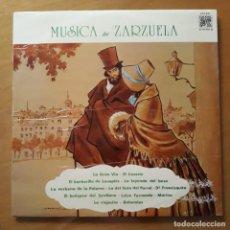 Discos de vinilo: LP MÚSICA DE ZARZUELA. Lote 217024428