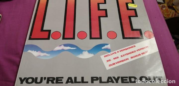 LIVE YOU ARE PLAYED OUT (Música - Discos - LP Vinilo - Solistas Españoles de los 70 a la actualidad)