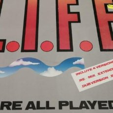 Discos de vinilo: LIVE YOU ARE PLAYED OUT. Lote 217029505