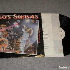 Discos de vinil: LOS SUAVES ESE DIA PIENSA EN MÍ EDL 80001 AÑO 1988 CON ENCARTE. Lote 217038553
