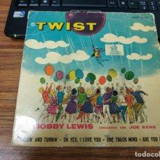 Discos de vinilo: BOBBY LEWIS TWIST EP TOSSIN. Lote 217046495