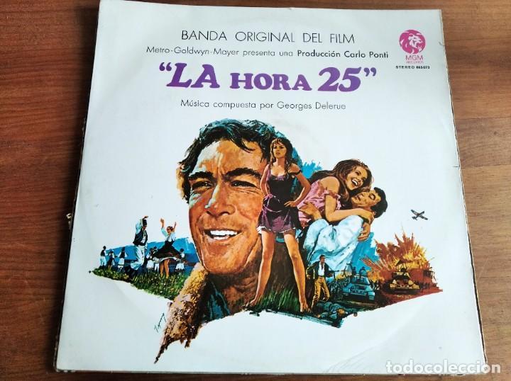 GEORGES DELERUE - LA HORA 25 BSO *********** LP ESPAÑOL 1967 (Música - Discos - LP Vinilo - Bandas Sonoras y Música de Actores )