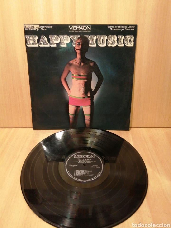 Discos de vinilo: Happy Music. Igor Rosenov. Coleccionistas Portadas Ye Ye. Psicodelic. Decoradores. - Foto 2 - 217068551