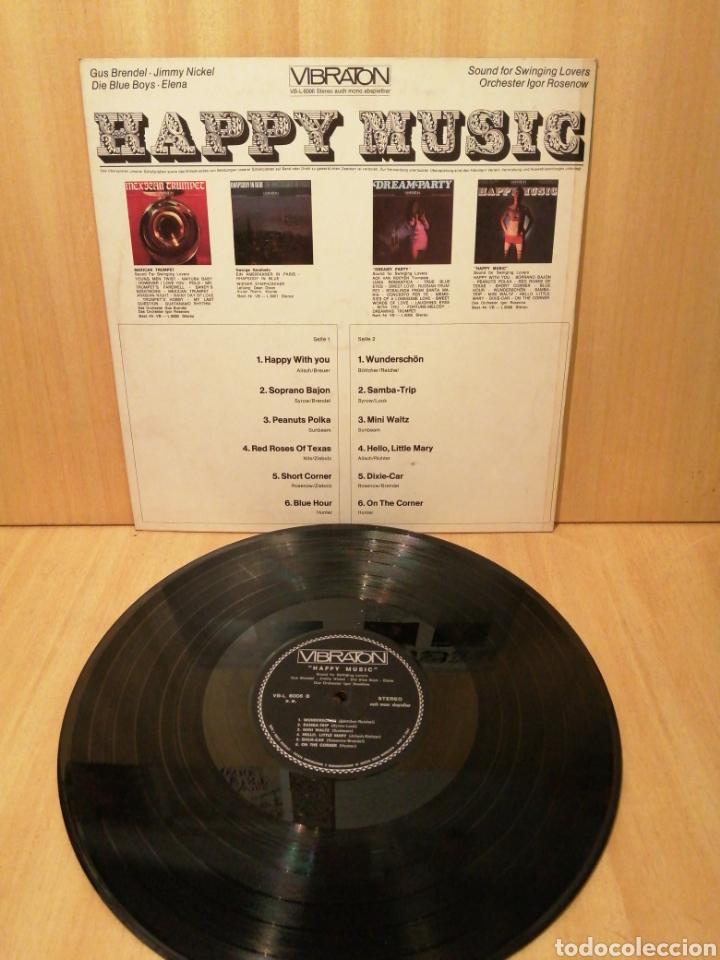 Discos de vinilo: Happy Music. Igor Rosenov. Coleccionistas Portadas Ye Ye. Psicodelic. Decoradores. - Foto 3 - 217068551